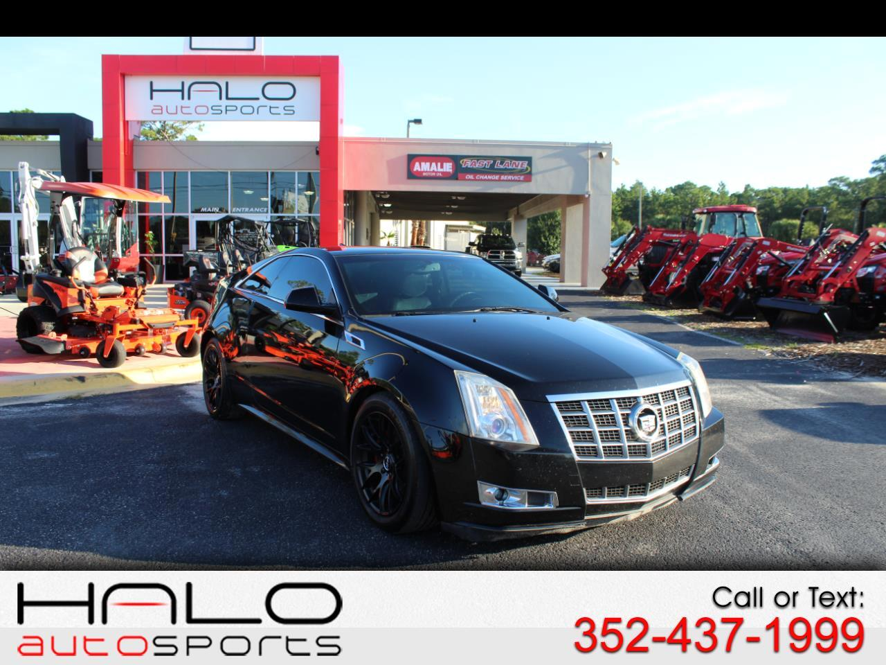2012 Cadillac CTS Coupe 2dr Cpe Performance RWD
