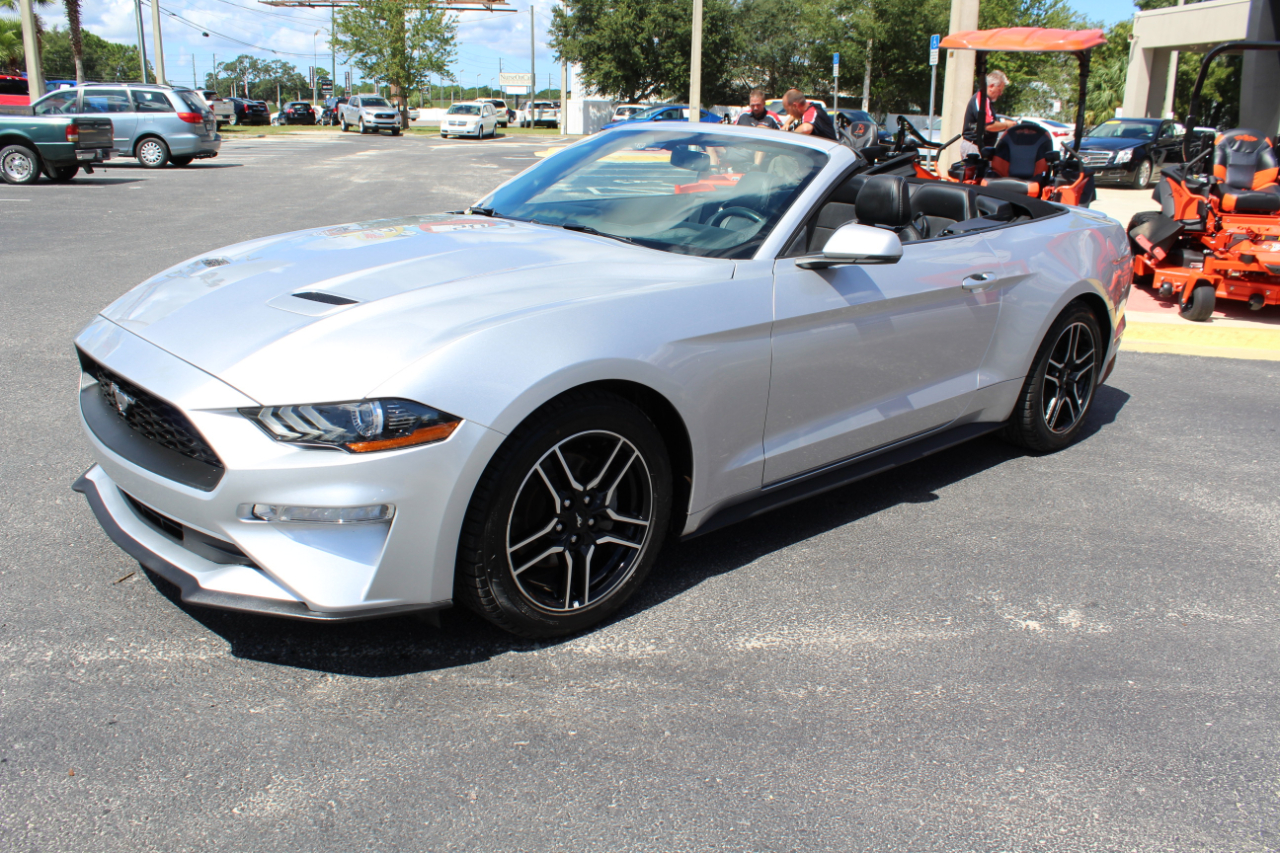 2018 Ford Mustang EcoBoost Convertible
