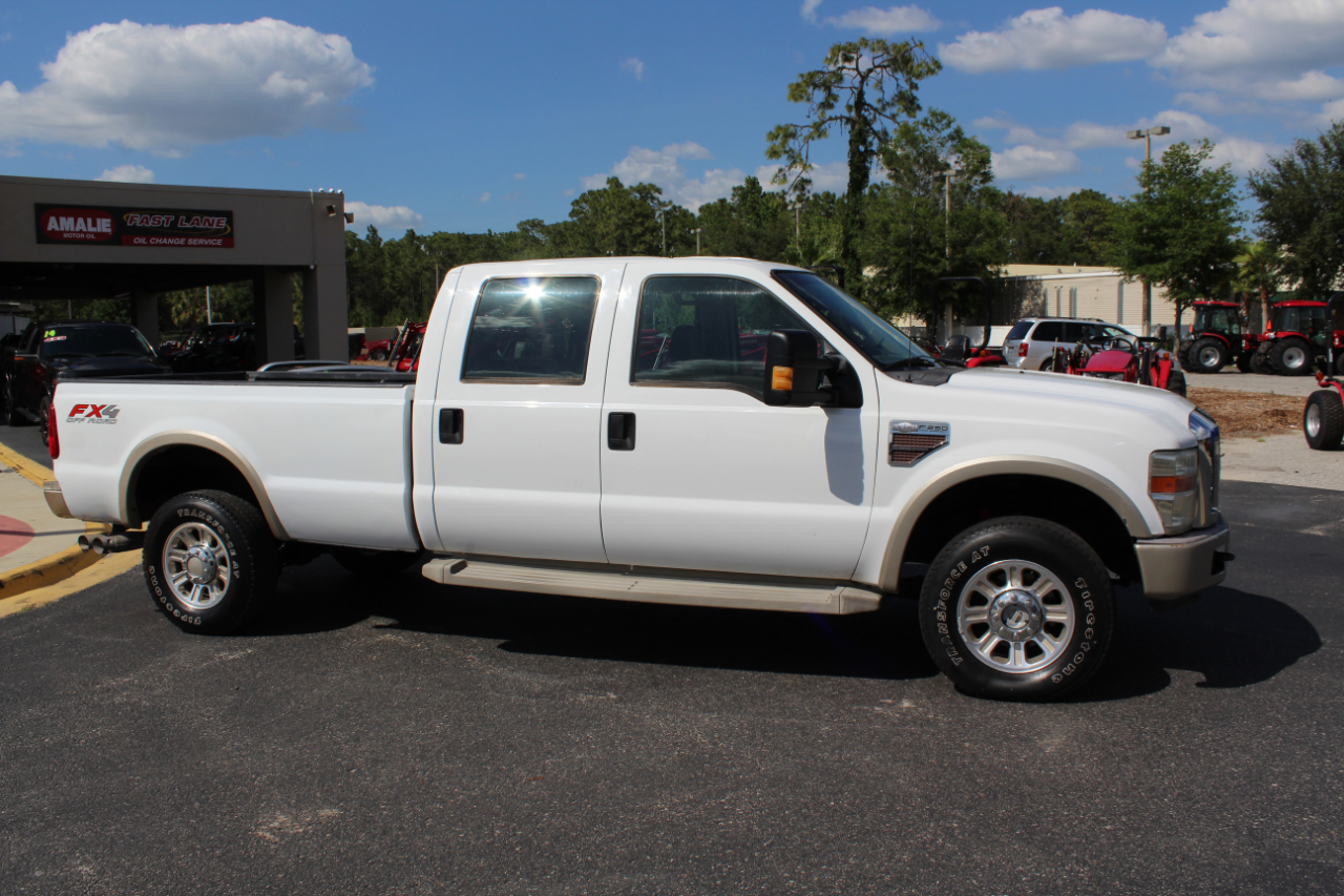 2010 Ford Super Duty F-350 SRW 4WD Crew Cab 156