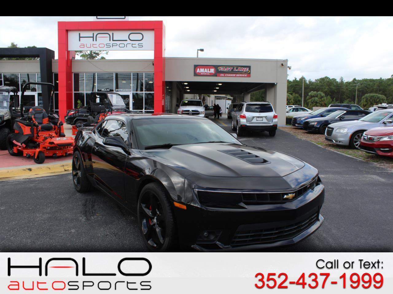 2015 Chevrolet Camaro 2dr Cpe SS w/1SS