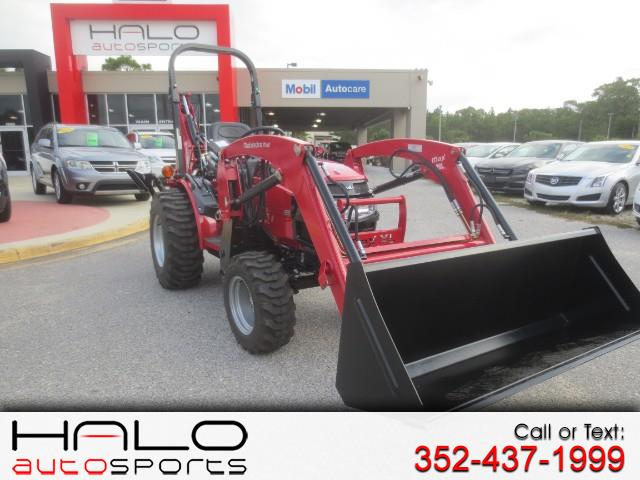 2017 Mahindra Max 26XL 4WD HST FRONT END LOADER AND BACKHOE