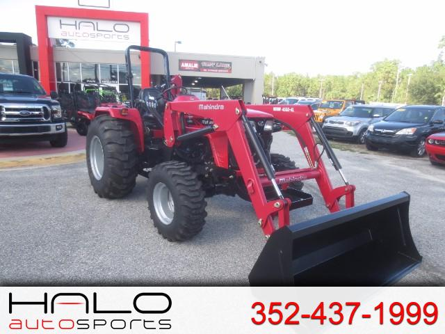 2017 Mahindra 4550 4WD LOADER AND BACKHOE