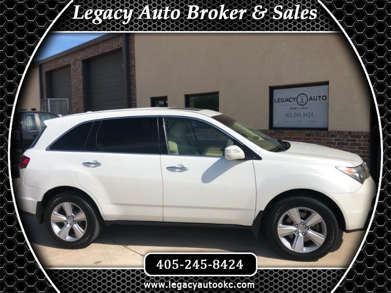 2010 Acura MDX Tech Package and Entertainment Package
