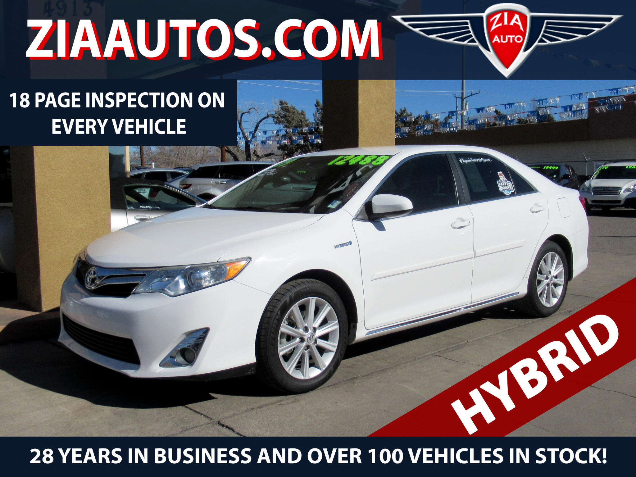 used 2013 toyota camry hybrid xle for sale in albuquerque. Black Bedroom Furniture Sets. Home Design Ideas