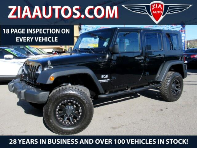 2009 Jeep Wrangler 2WD 4dr Unlimited X