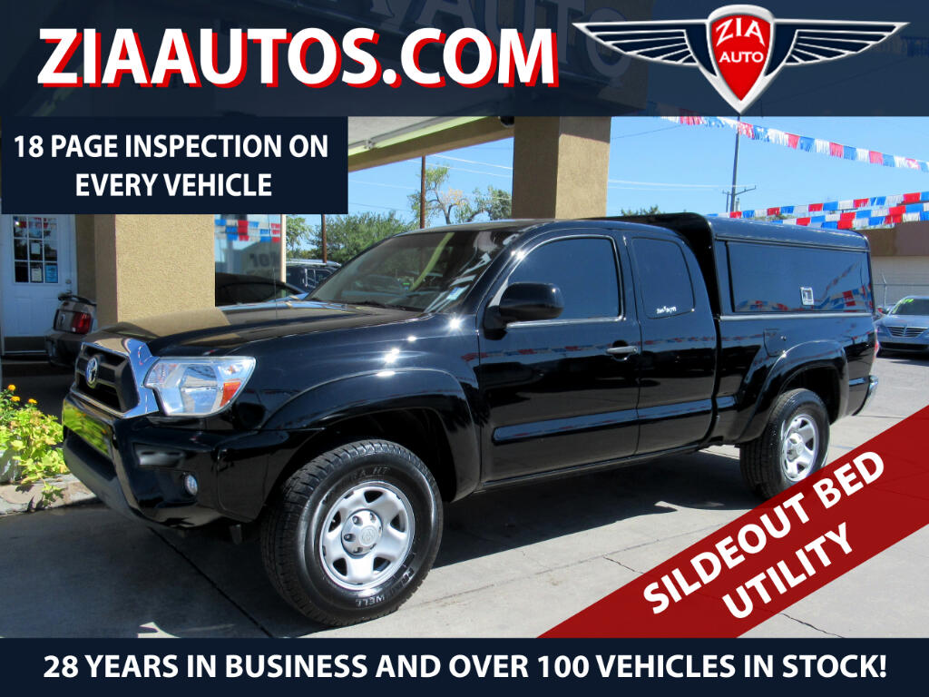 2013 Toyota Tacoma 2WD Access Cab V6 AT PreRunner (Natl)
