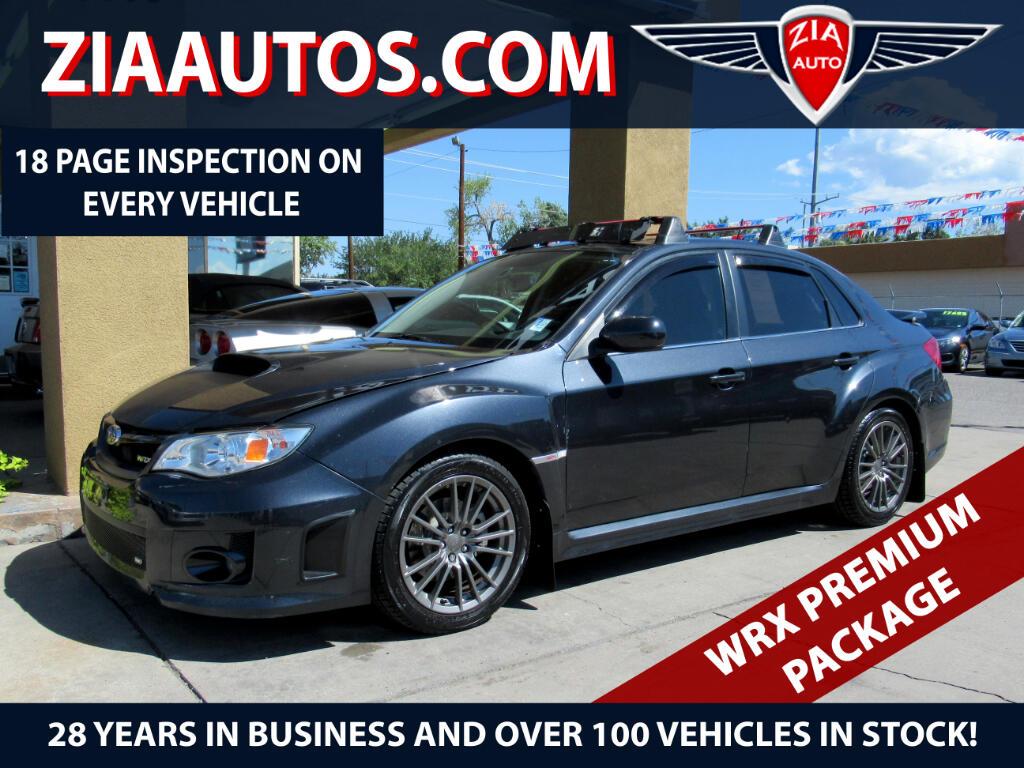 2012 Subaru Impreza Sedan WRX 4dr Man WRX Premium