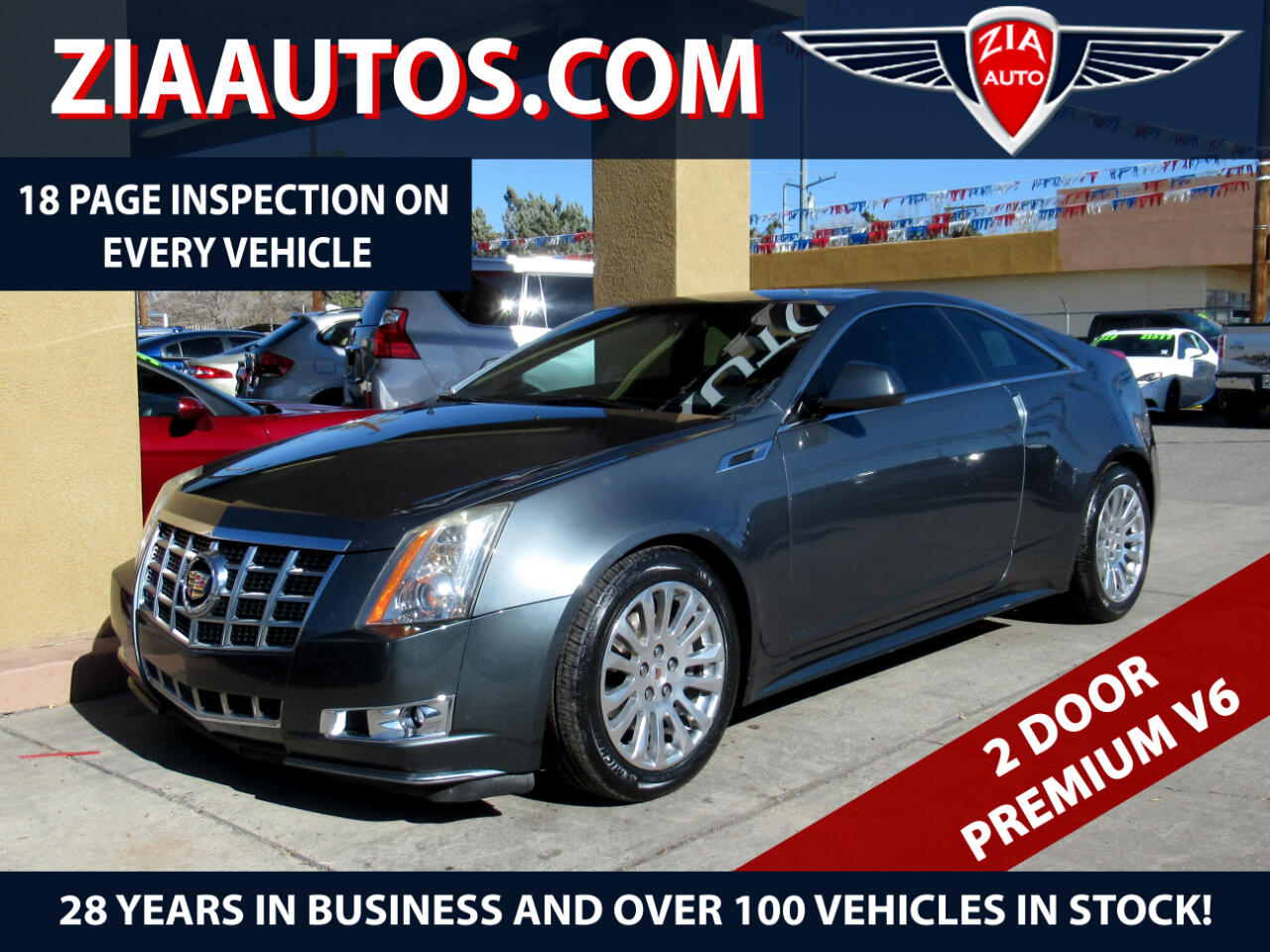 2013 Cadillac CTS Coupe 2dr Cpe Premium RWD