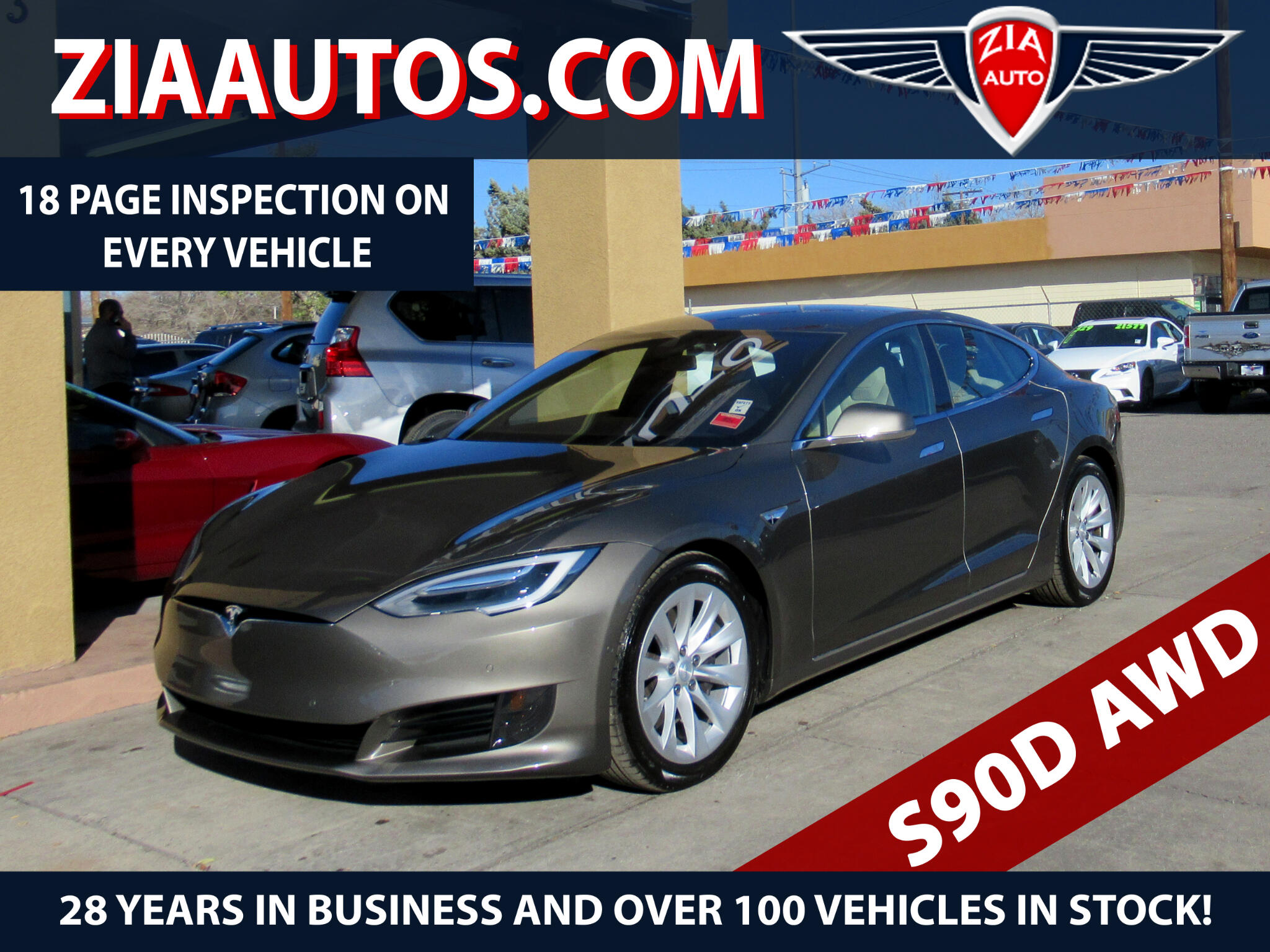 2016 Tesla Model S 90D AWD *Ltd Avail*