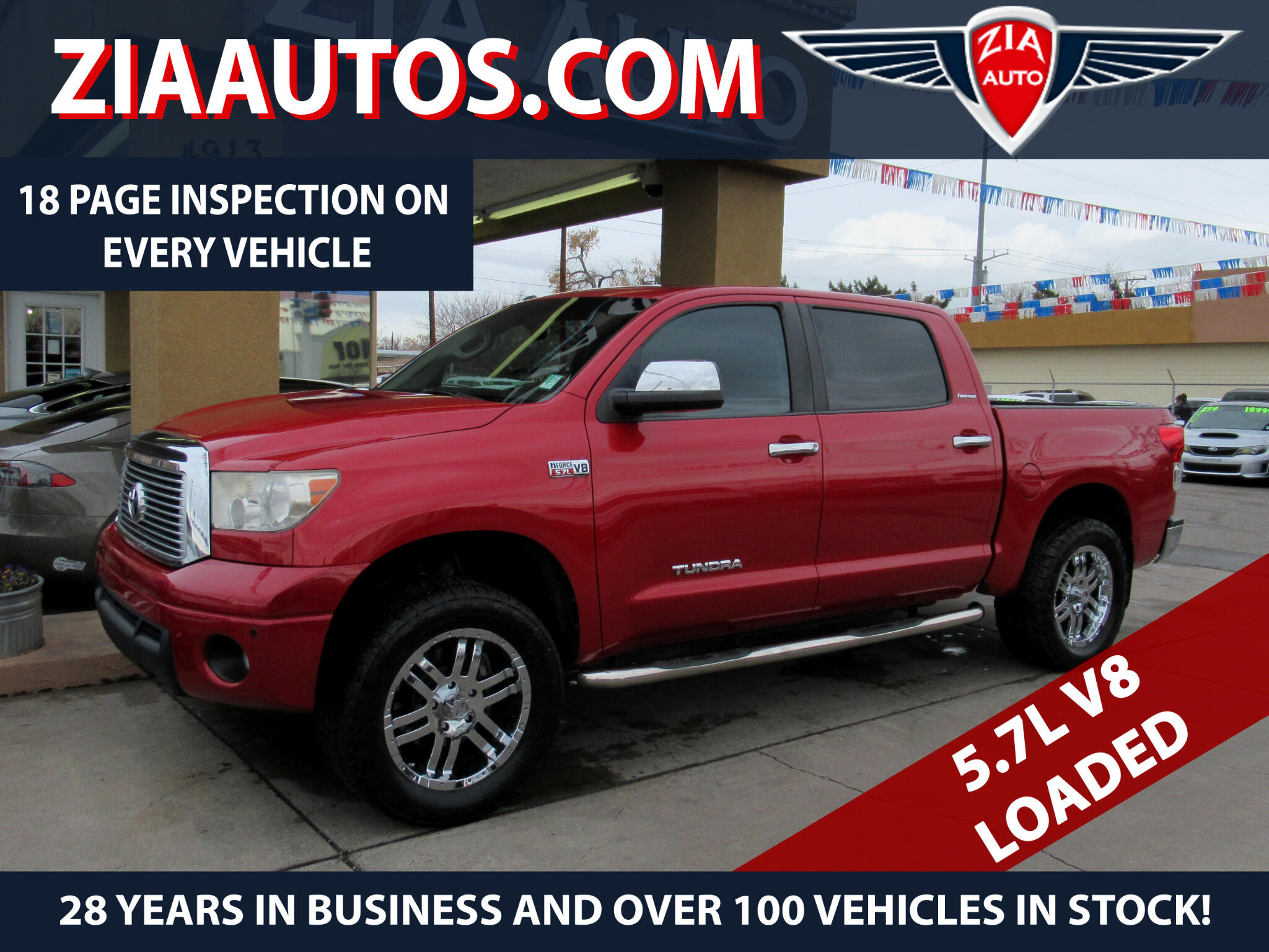 2011 Toyota Tundra 2WD Truck CrewMax 5.7L V8 6-Spd AT LTD (Natl)
