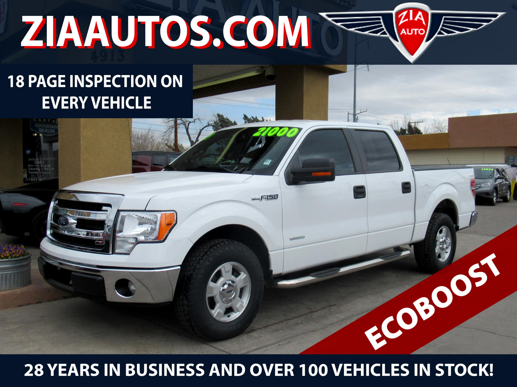 2013 Ford F-150 XLT SuperCrew Short Box 2WD