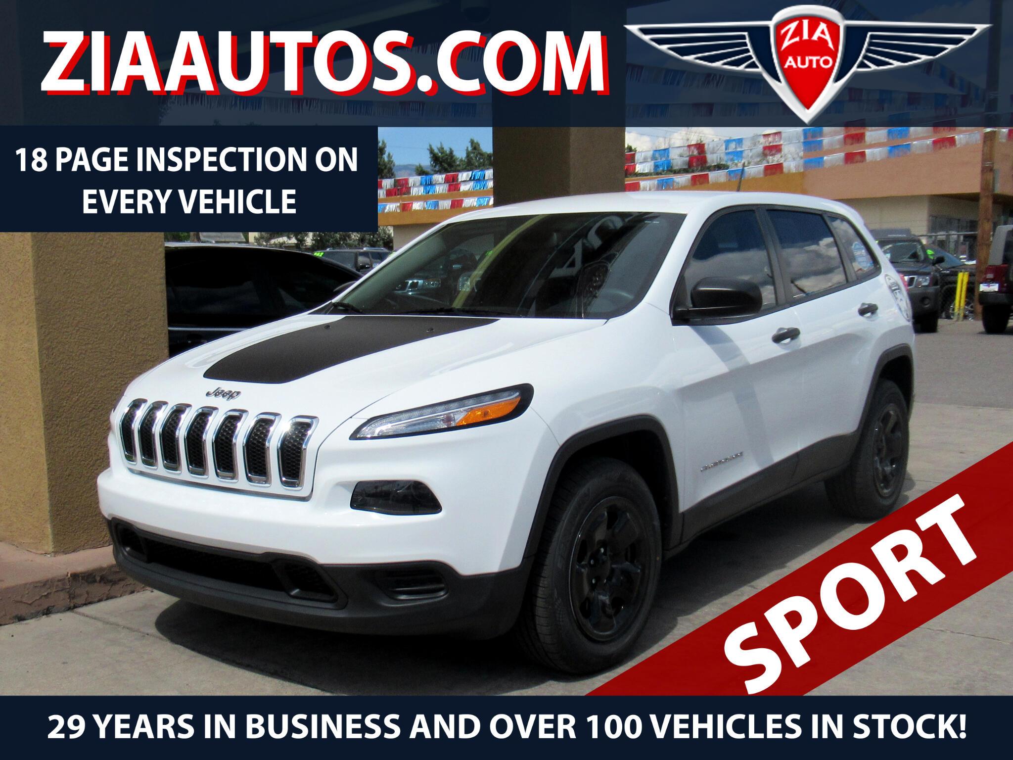 2014 Jeep Cherokee Sport FWD