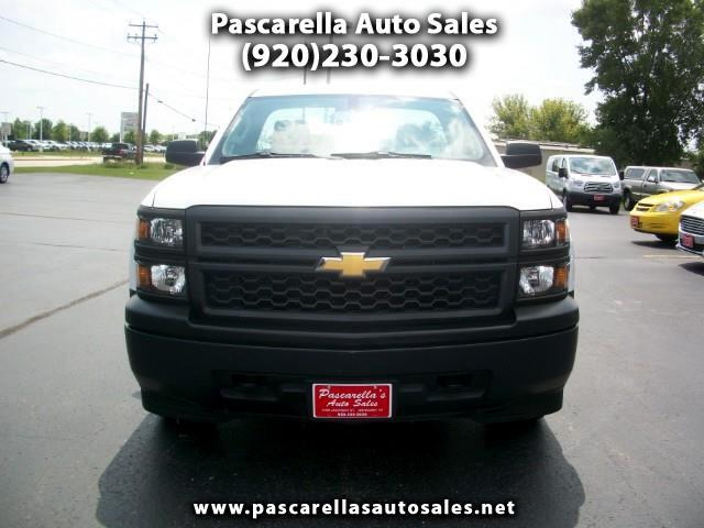 2014 Chevrolet Silverado 1500 Regular Cab Long Bed 4WD