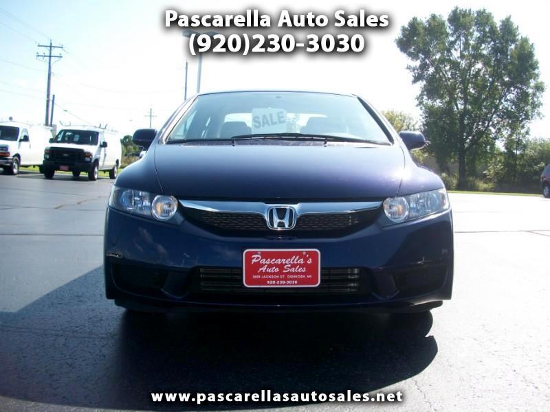 2009 Honda Civic LX Sedan 5-Speed MT