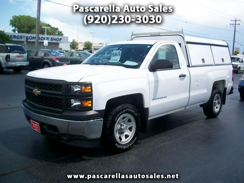 Chevrolet Silverado 1500 Regular Cab Long Bed 2WD 2014