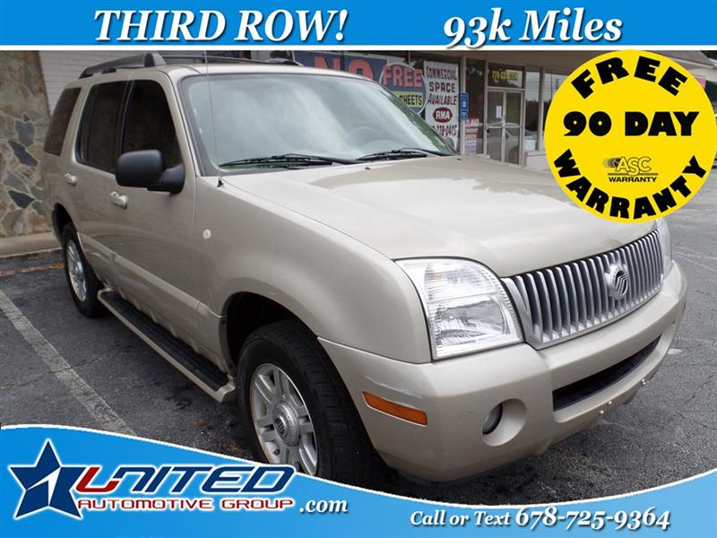 2005 Mercury Mountaineer Convenience 4.6L 2WD