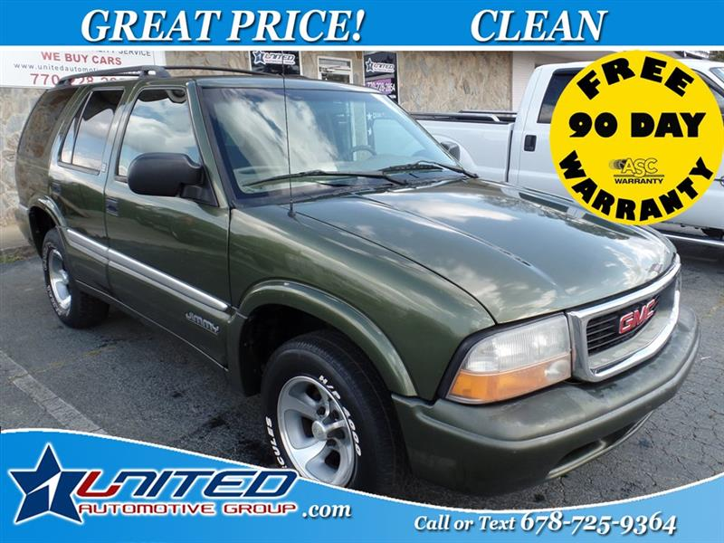 2001 GMC Jimmy SLE 4-Door 2WD