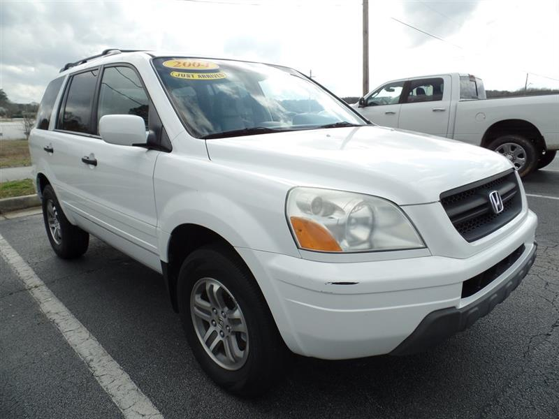 Honda Pilot EX w/ Leather and Nav System 2004