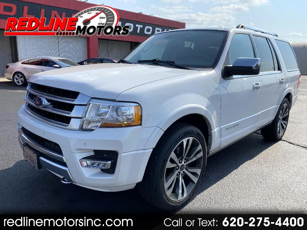 Ford Expedition 4WD 4dr Platinum 2016