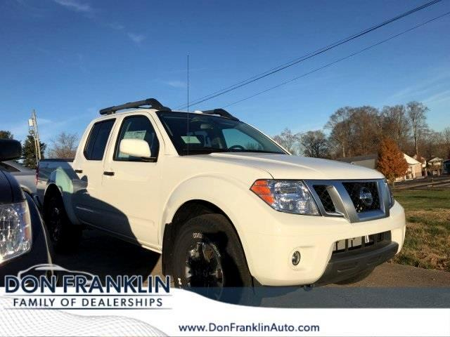 2018 Nissan Frontier PRO-4X Crew Cab 5AT 4WD