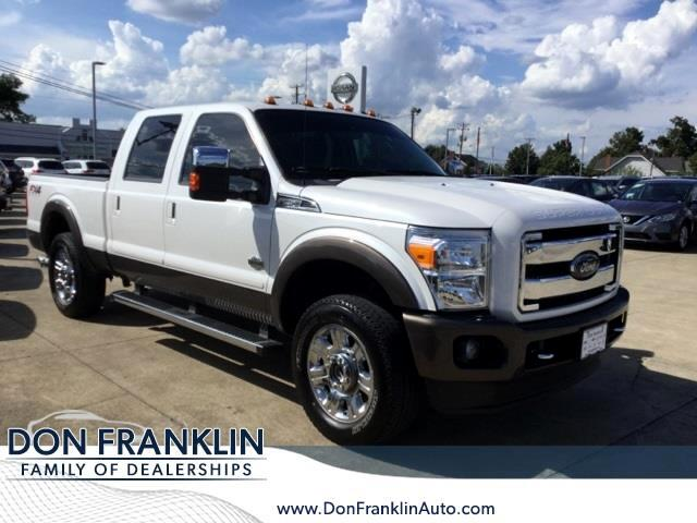 2016 Ford F250 XLT Crew Cab Long Bed 4WD