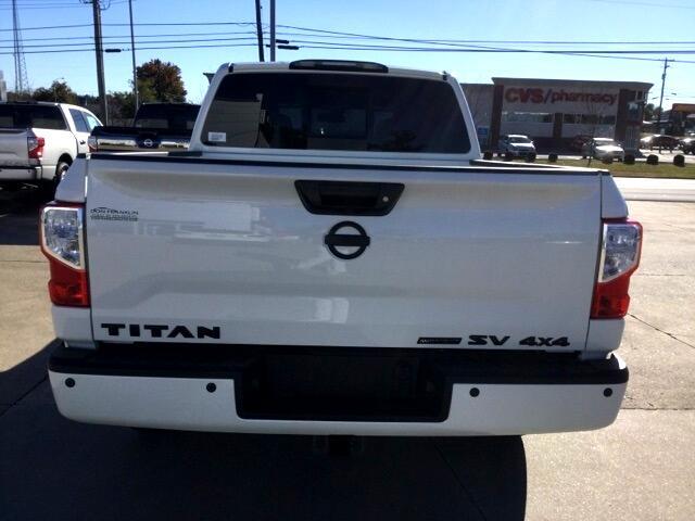 2019 Nissan Titan 4x4 Crew Cab SV
