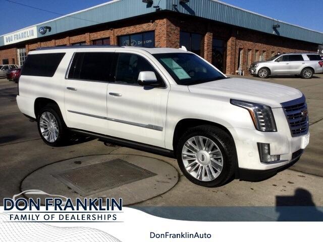 2018 Cadillac Escalade ESV 4WD 4dr Platinum
