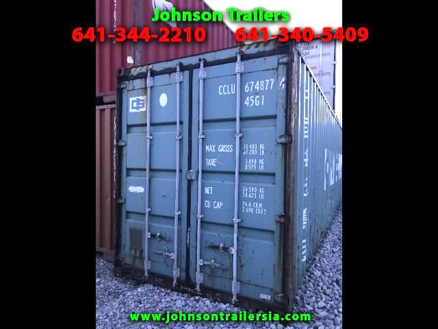 Shipping Container 40 ft shipping container  2003