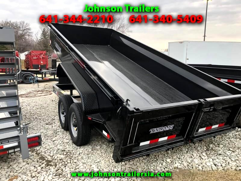 2019 Titan Trailer Mfg, Inc. Dump