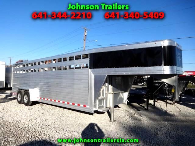 2016 Custom Classic Gooseneck Livestock Trailer