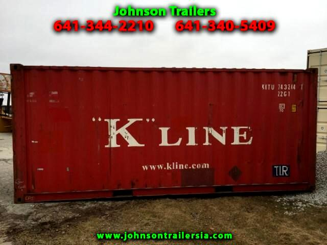 2002 Shipping Container 20 ft shipping container