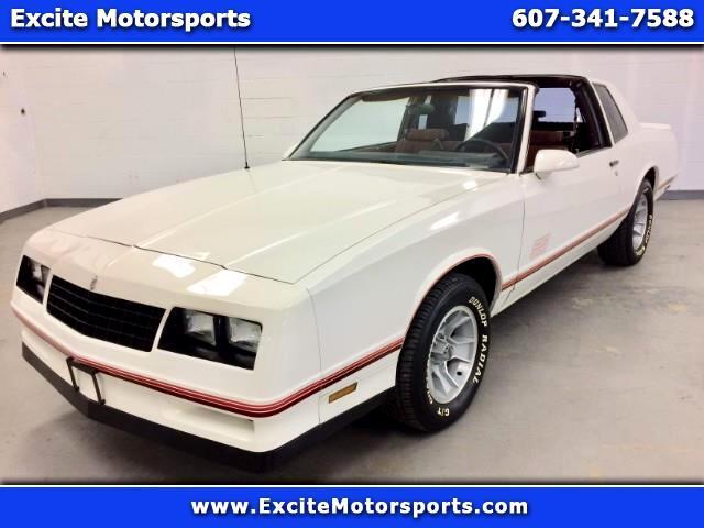 "1987 Chevrolet Monte Carlo ""SS"" 5.0 V8 T-Tops Super Low Miles! Rare Find!"