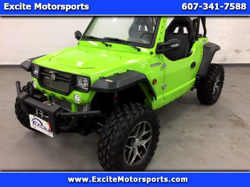 2018 Oreion Reeper Apex Sport Street Legal Side By Side UTV 4x4 Gecko Green