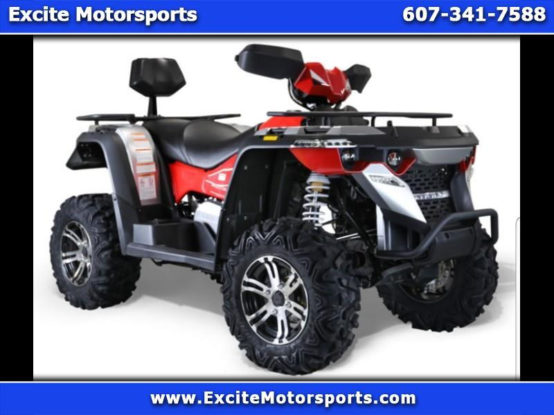 2019 Bennche Gray Wolf 550L 4x4 Red