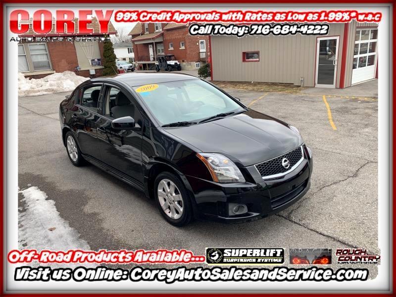 2009 Nissan Sentra 4dr Sdn I4 CVT 2.0 SR FE+