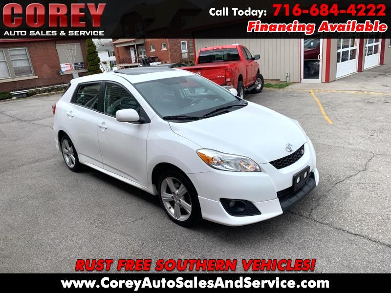 Toyota Matrix S AWD 4-Speed AT 2009