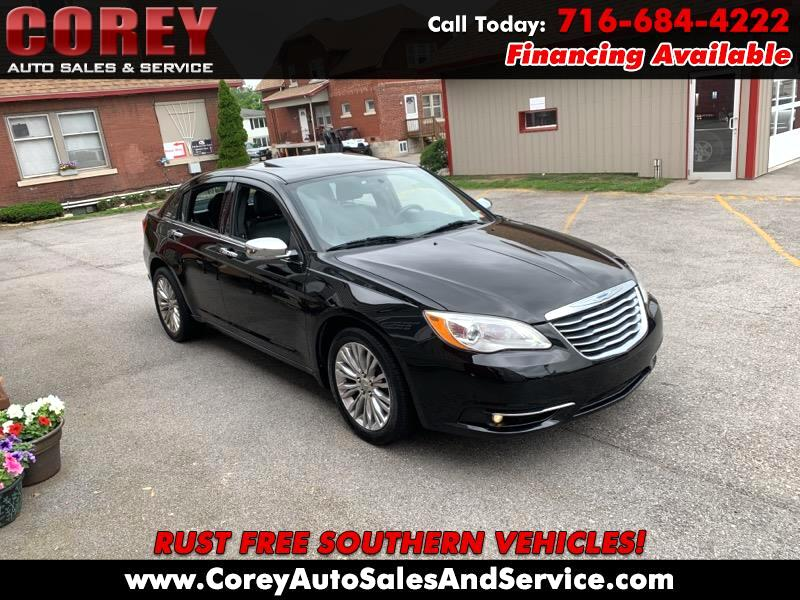 2012 Chrysler 200 4dr Sdn Limited