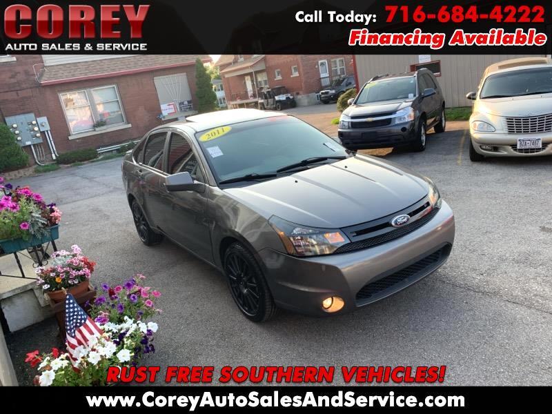 2011 Ford Focus 4dr Sdn SES