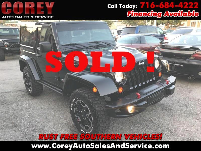 Jeep Wrangler 4WD 2dr Rubicon 10th Anniversary 2013