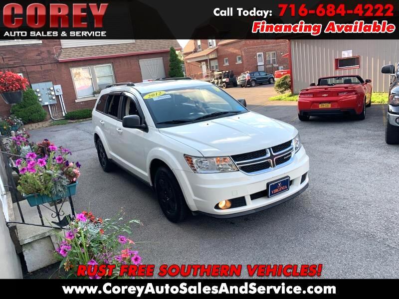 2012 Dodge Journey FWD 4dr American Value Pkg