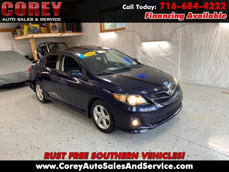 Toyota Corolla 4dr Sdn Auto S (Natl) 2011