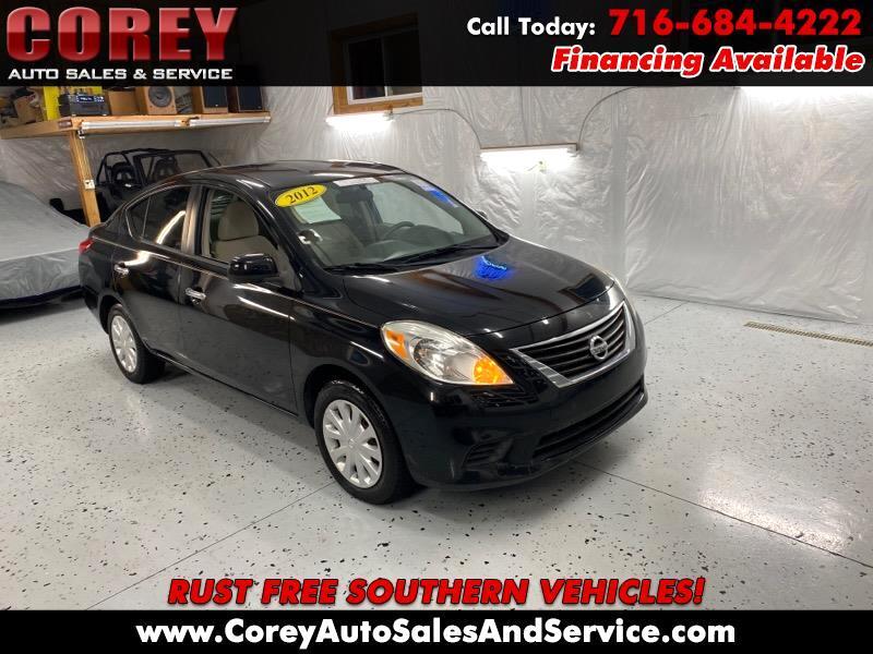 Nissan Versa 4dr Sdn CVT 1.6 SV 2012