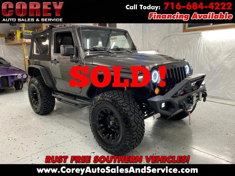 Jeep Wrangler Willys Wheeler 4x4 2017