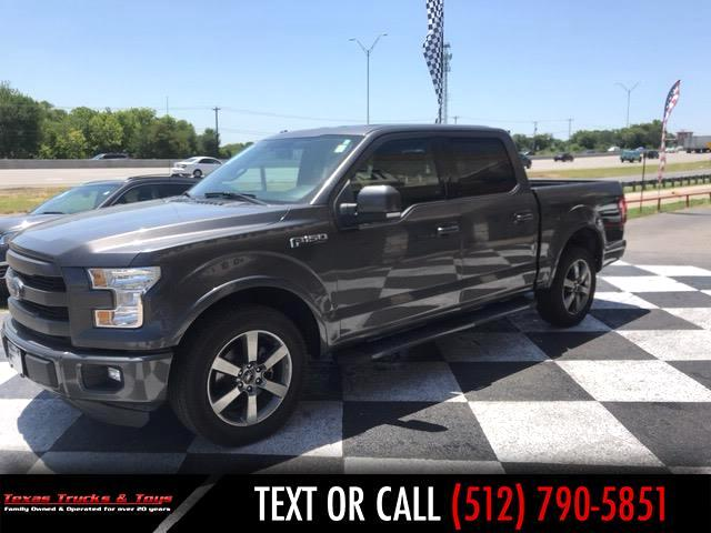 2015 Ford F-150 Lariat SuperCrew 2WD