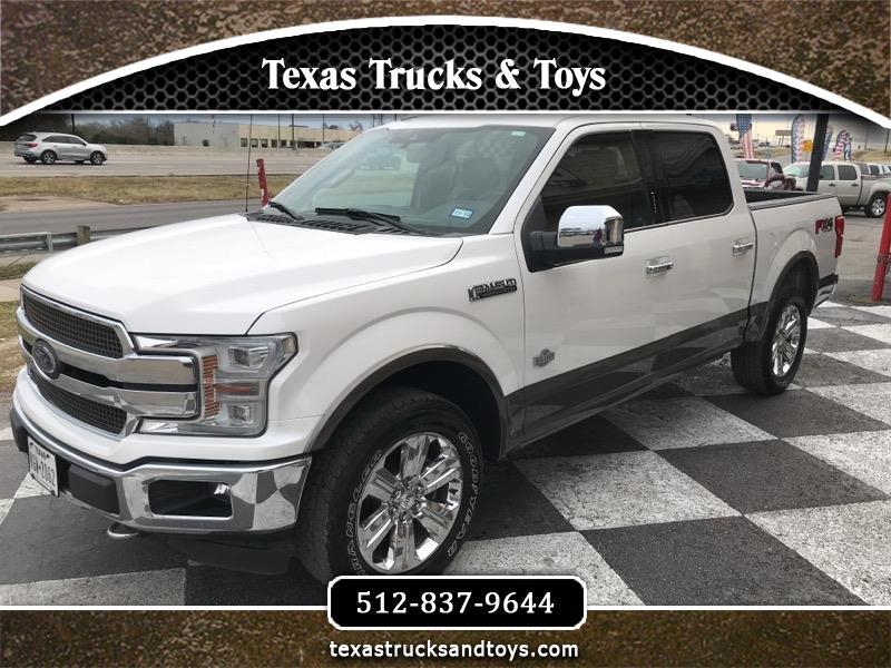 """2018 Ford F-150 SuperCrew 139"""" King Ranch 4WD"""