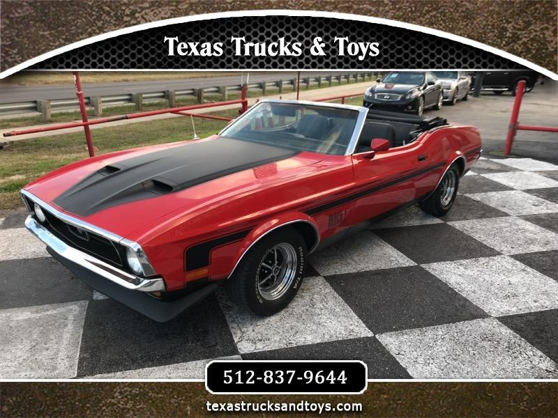 1971 Ford Mustang 2dr Conv