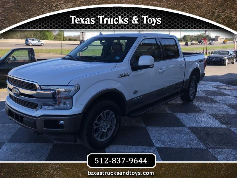 "2018 Ford F-150 SuperCrew 139"" King Ranch 4WD"