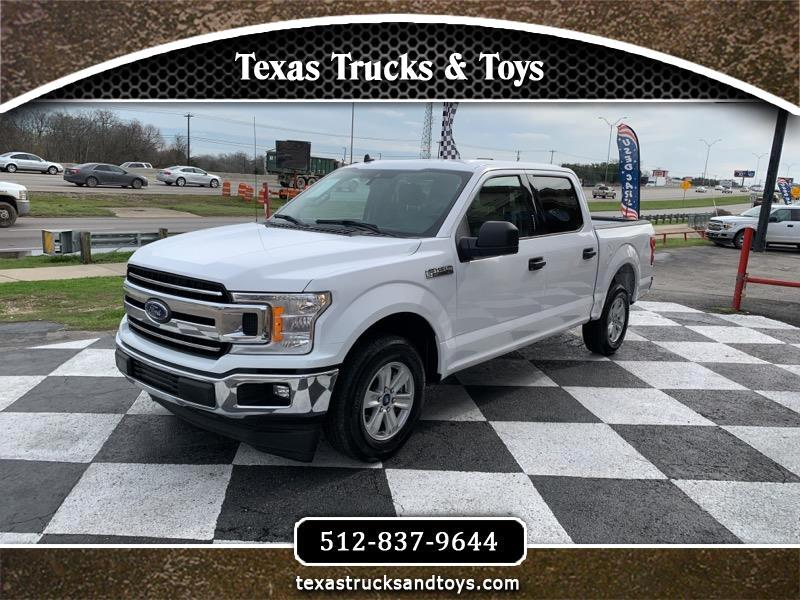 Ford F-150 SuperCrew XLT SuperCrew 5.5-ft. Bed 2WD 2019