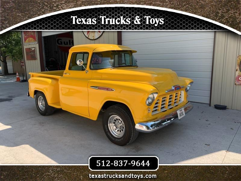"Chevrolet 1/2 Ton Pickups Sport Side 117.5"" WB 1957"