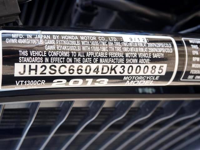 2013 Honda VFR1300CR